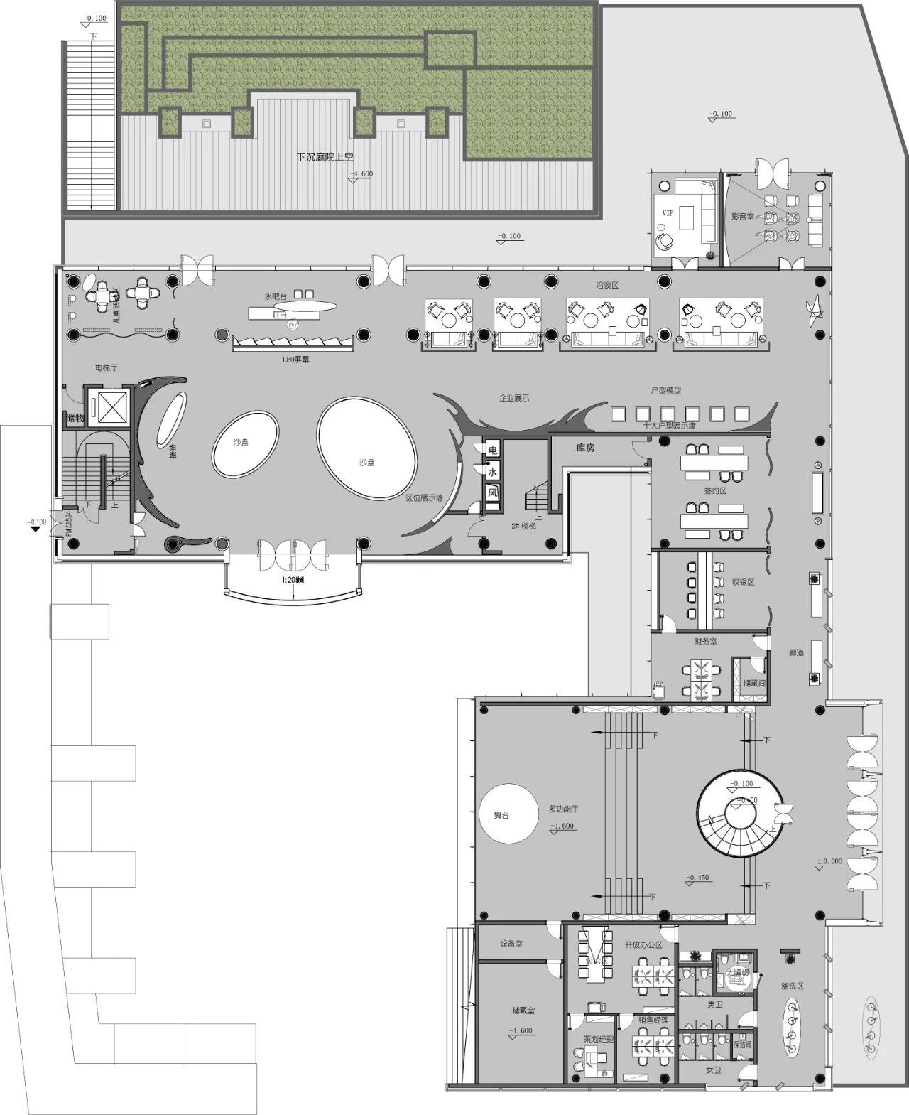华侨城丽江逐水阁营销中心 室内设计  / DAS大森设计