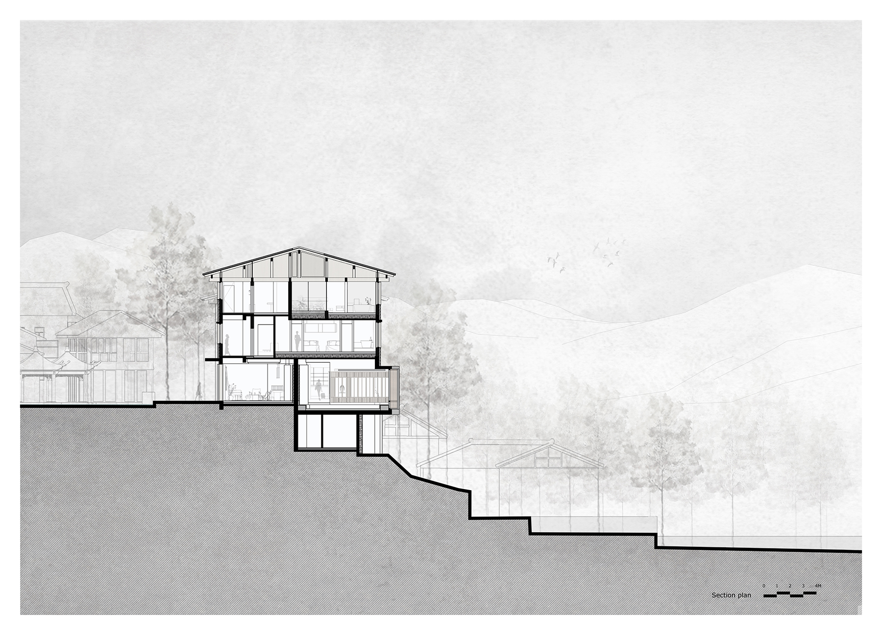 张家界 马儿山村·林语山房民宿酒店 木构设计 / 尌林建筑设计事务所